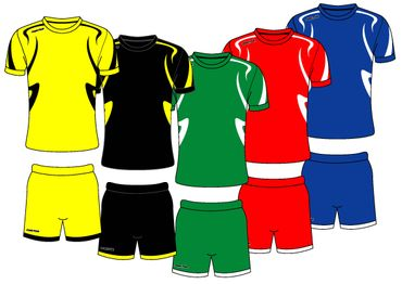 Fussball Trikot - Set DESIGN 7