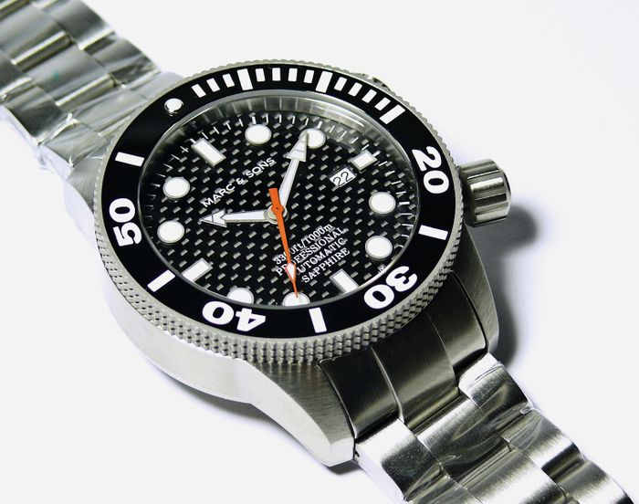 MARC & SONS Diver Watch series PROFESSIONAL MSD-028-3S