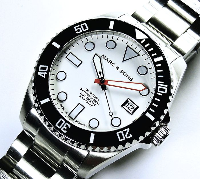 MARC & SONS Diver Watch Series SPORT MODDING MSD-045-2S
