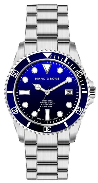 MARC & SONS Diver watch series SPORT MSD-045-3S