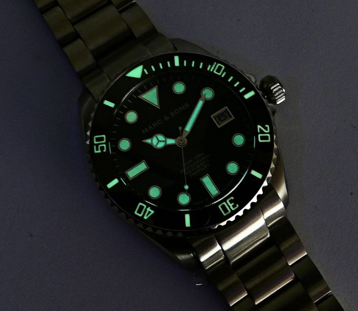 MARC & SONS Diver Watch Series SPORT MODDING MSD-045-4S