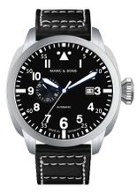 MARC & SONS Pilot Watch series CLASSIC MOD BGW9 MSF-006-3L3