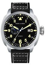MARC & SONS Pilot Watch series CLASSIC MOD VINTAGE MSF-006-4L3