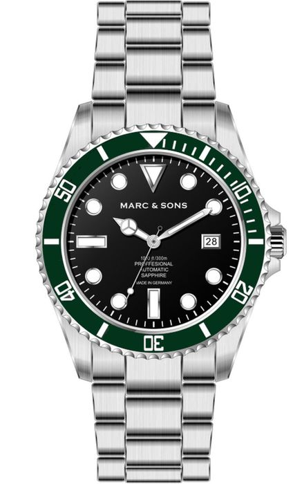 MARC & SONS Diver watch Series CLASSIC MSD-044-SGS