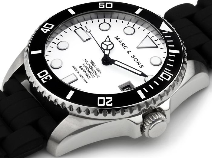 MARC & SONS Diver watch series CLASSIC MSD-044-WSK1