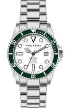 MARC & SONS Diver watch Series CLASSIC MSD-044-WGS