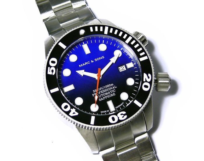 MARC & SONS Diver Watch series PROFESSIONAL MSD-028-8S