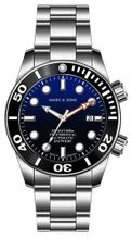 MARC & SONS diver watch PROFESSIONAL MOD BGW9 MSD-028-11S
