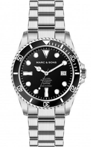 MARC & SONS Diver watch series SPORT MSD-045-5S