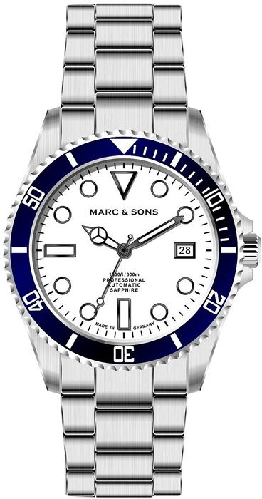 MARC & SONS Diver watch series SPORT MSD-045-11S