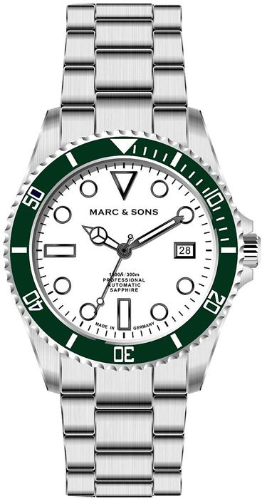 MARC & SONS Diver watch series SPORT MSD-045-15S