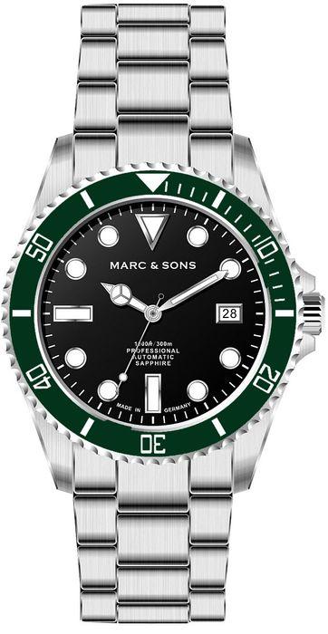MARC & SONS Taucheruhr Serie SPORT MSD-045-13S