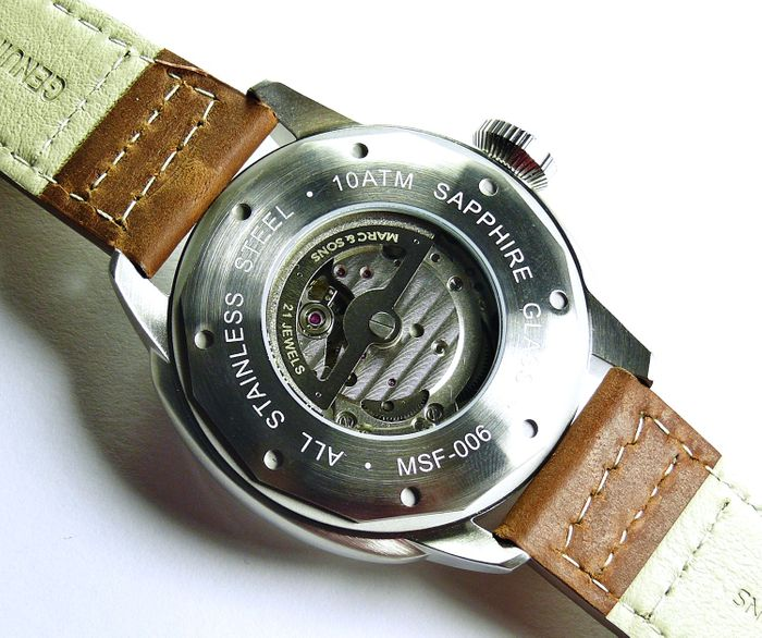 MARC & SONS Pilot Watch series CLASSIC MSF-006-7L1