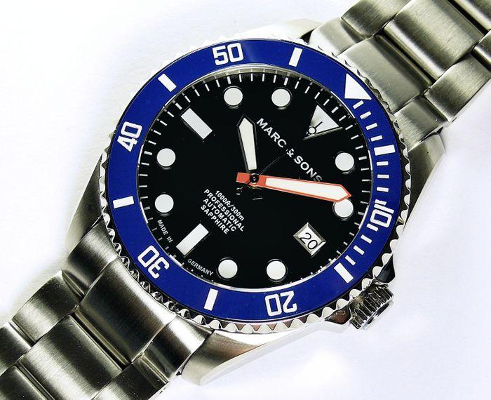 MARC & SONS Diver Watch Series SPORT MODDING MSD-045-10S