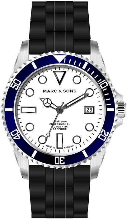 MARC & SONS Diver watch series SPORT MSD-045-11K1