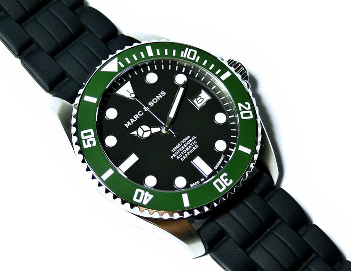 MARC & SONS Diver watch series SPORT MSD-045-13K1