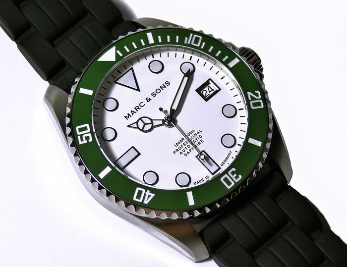 MARC & SONS Diver watch series SPORT MSD-045-15K1