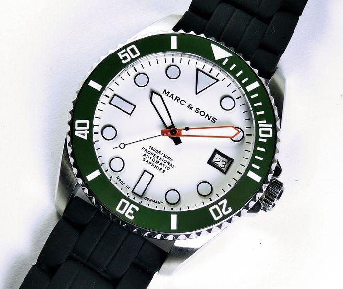 MARC & SONS Diver Watch Series SPORT MOD MSD-045-16K1