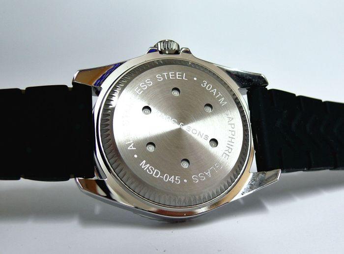 MARC & SONS Diver Watch Series SPORT MOD MSD-045-4K1