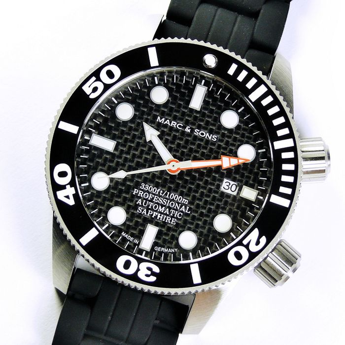 MARC & SONS Diver Watch series PROFESSIONAL MSD-028-15K1