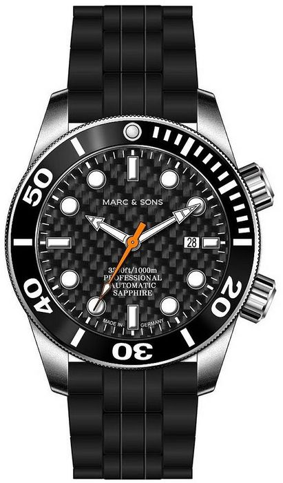 MARC & SONS Diver Watch series PROFESSIONAL MSD-028-3K1