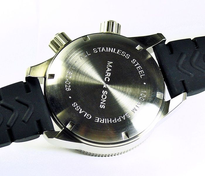 MARC & SONS diver watch PROFESSIONAL MOD BGW9 MSD-028-11K1
