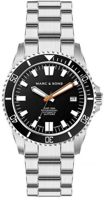 MARC & SONS Taucheruhr Serie SPORT II MSD-046-1S