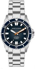 MARC & SONS Diver watch series SPORT II MSD-046-2S
