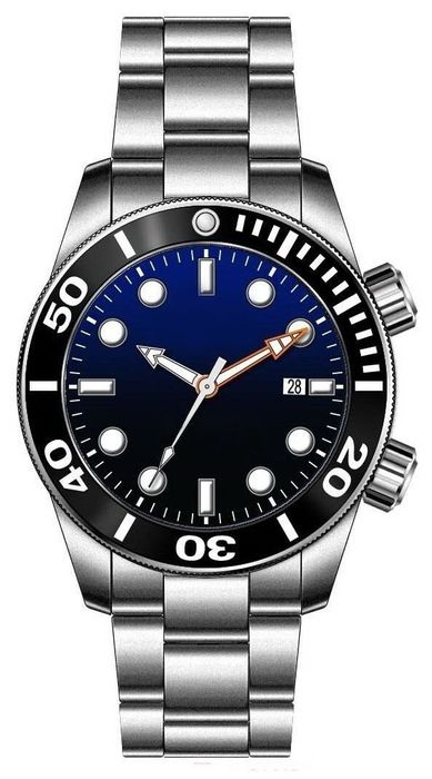 MARC & SONS diver watch PROFESSIONAL MOD BLANK MSD-028-19S