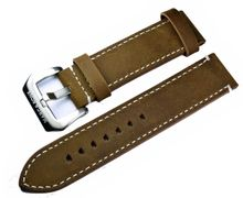 MARC & SONS Lederband Farbe braun, 22 mm, Referenz L8