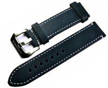 MARC & SONS Lederband Farbe dunkelblau, 22 mm, Referenz L9