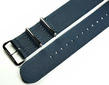 MARC & SONS Nato strap color blue, 22 mm, Reference T11