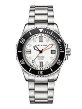 MARC & SONS 500M Diver watch with Swiss ETA 2824-2, MSD-029-7S