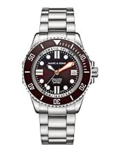 MARC & SONS 500M Diver watch with Swiss ETA 2824-2, MSD-029-8S
