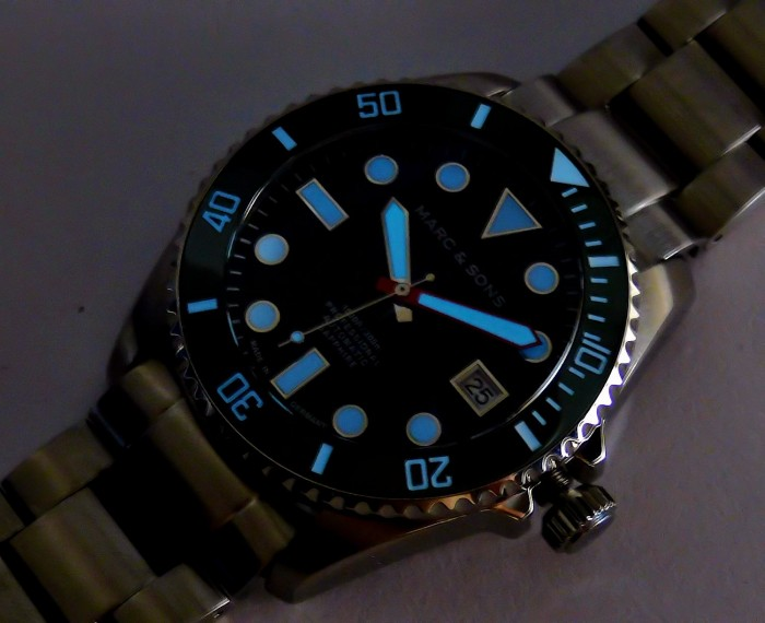 MARC & SONS Diver Watch Series SPORT MODDING MSD-045-16S