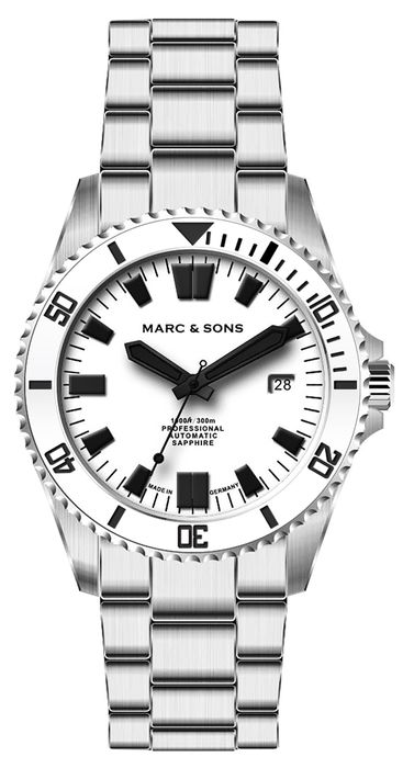MARC & SONS Diver watch serie sSPORT II MSD-046-3W-S