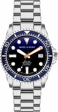 MARC & SONS Diver Watch Series SPORT Countdown bezel MSD-045-18C-S