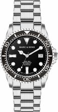 MARC & SONS Diver Watch Series SPORT Countdown bezel MSD-045-5C-S