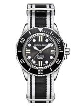 MARC & SONS 500M Diver watch with Swiss ETA 2824-2, MSD-029-1-T12