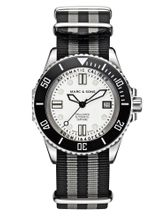 MARC & SONS 500M Diver watch with Swiss ETA 2824-2, MSD-029-3-T3