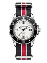 MARC & SONS 500M Diver watch with Swiss ETA 2824-2, MSD-029-3-T17
