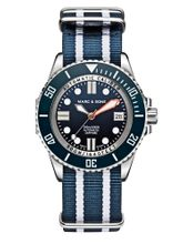 MARC & SONS 500M Diver watch with Swiss ETA 2824-2, MSD-029-6-T9
