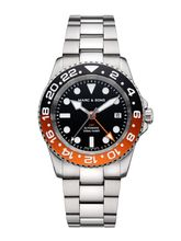 MARC & SONS Diver watch Automatic GMT ETA 2893-2 Ref.: MSG-007-6S
