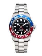 MARC & SONS Diver watch Automatic GMT ETA 2893-2 Ref.: MSG-007-7S