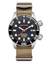 MARC & SONS diver watch PROFESSIONAL MOD BGW9 MSD-028-20-T8