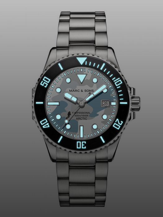 MARC & SONS limited special edition DWFB - Reference: OCEAN