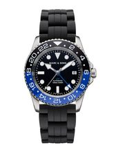 MARC & SONS Diver watch Automatic GMT ETA 2893-2 Ref.: MSG-007-1-K1