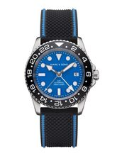 MARC & SONS Diver watch Automatic GMT ETA 2893-2 Ref.: MSG-007--4-LS-K6