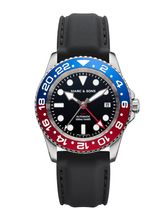 MARC & SONS Diver watch Automatic GMT ETA 2893-2 Ref.: MSG-007-7-K3