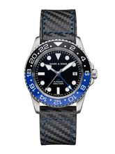 MARC & SONS Diver watch Automatic GMT ETA 2893-2 Ref.: MSG-007-1-C3